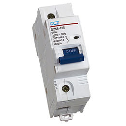 China DZ56-125 Series Miniature Circuit Breaker CE&IEC 63A-125A 1P