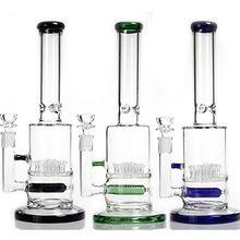 Straight Tube JM Flow Glass Bong Jiangsu HF Art Products Glass Co., Ltd.