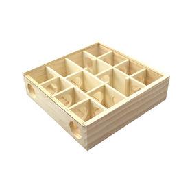 Indoor funny wooden pet maze toy