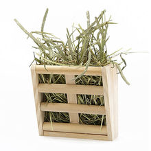 Indoor pet accessories nature wooden grass shelf from China (mainland)