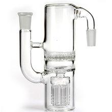 China Ash catcher glass smoking pipe