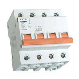 DZ48N-63 Series Miniature Circuit Breaker, CE and IEC 1A-63A 6KA 4P
