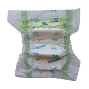 Disposable baby diaper,super absorbent core,soft nonwoven top sheet with breathable back sheet