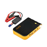 Car jump starter 7500mAh with 12V output and double USB 5V output portable charger