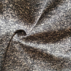 Yarn dyed hemp cotton blended jersey fabric