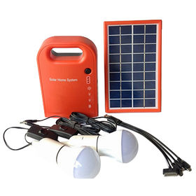 China Solar LED lighting system