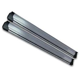 Aluminum Side Step in Silver, Suitable for Nissan Qashqai 2008 to 2009, Can be Used as Nerf Bar