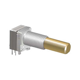 China 8mm Metal Shaft Encoder with 0.05W Rated Power, Suitable for Walkie-talkie