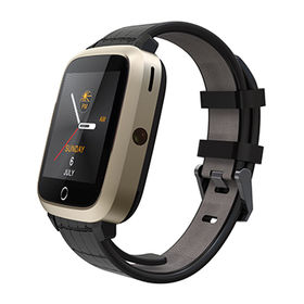 Android GPS WiFi Bluetooth smart bracelet watches with camera and heart rate monitoring