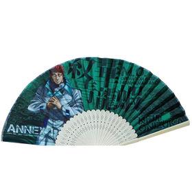 China Folding bamboo paper hand fan
