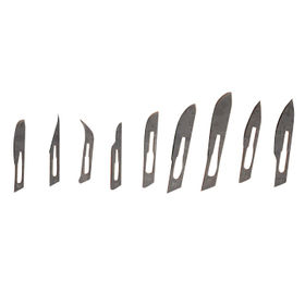 Surgical Blades, Made of Stainless Steel or Carbon Steel