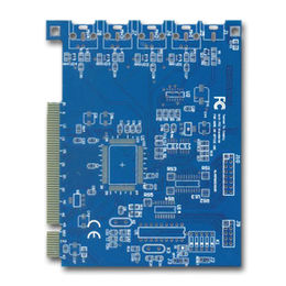 Fr4 material Multilayer PCB with 1.6mm Board Thickness and 3mil Line Width