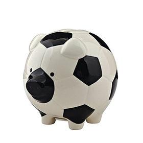 High Quality Ceramic Soccer Piggy Bank Quanzhou Leader Gifts Co. Ltd