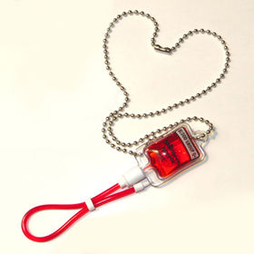 Artificial blood bag, blood bag keychain, gifts for blood donator from Hot and Cold Products Co. Ltd