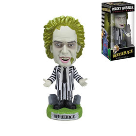 High Quality Resin Beetlejuice Bobble Head