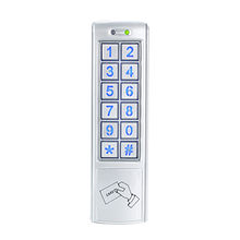 China Stand alone metal access control keypads, door entry system