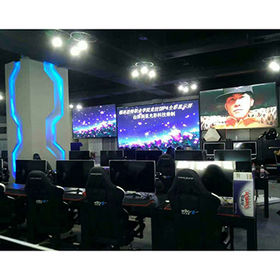 High refresh rate LED panel P7.62 RGB SMD indoor full color LED display screen