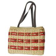 China Natural Straw Beach Bag