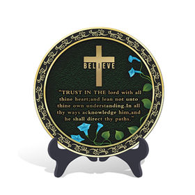 China Religious Christian Cross Plate Activated Carbon C
