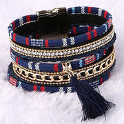 Bohemia Personality Handmade Cord + Chain Bracelet Ebolle Fashion Accessories Co. Ltd