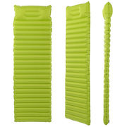 China Camping outdoor sleeping nylon pad lightweight TPU ultra-light portable automatically inflatable