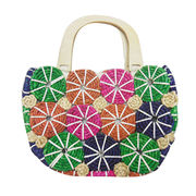 China Multicolor Hand Braided Handbag