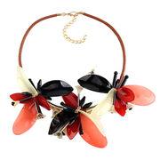 Acrylic Floral Chocker Ebolle Fashion Accessories Co. Ltd