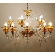 China Classic European Art Glass Chandelier