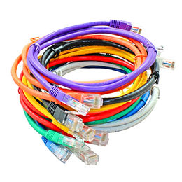 China 8P8C stranded RJ45 copper patch cable