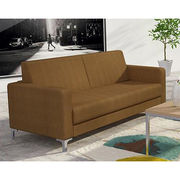 China Modern Fabric 3-seater Office Sofa with Customized Colors