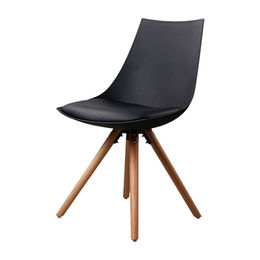 Custom plastic chairs without arms from Zhilang Furniture Co.,Ltd