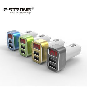 China USB in-car chargers