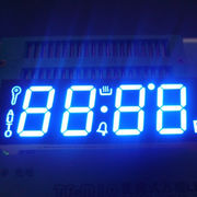 Ultra Blue Four-digit 0.56-inch 7-segment LED Display for Oven, 120°C Operating Temperature