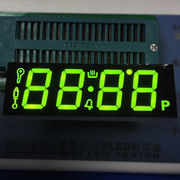 Ultra Green Four-digit 0.56-inch 7-segment LED Display for Oven Control, 58.2 x 19mm Size