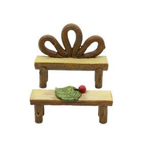 China Hot-sales Polyresin Miniature fair Garden Chair