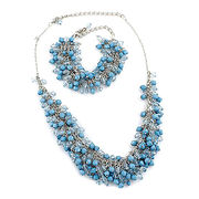 China Sloppy Necklace + Bracelet Set