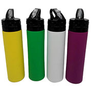 China Collapsible silicone water bottle