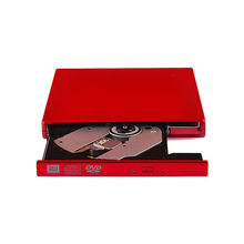 High Quality USB 2.0 and Slim 12.7mm Portable Tray-load External DVDRW/CD-RW Drive