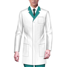 China men's lab coat jacket