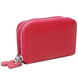 Credit Card Wallet, Genuine Leather Credit Card Holder for Women from Hong Kong Casdilly Trade Co. Ltd