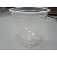 China Clear food container