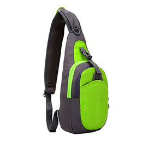 Durable Waterproof Lightweight Big Capacity Unisex Sling Bag Waist Bag with Nylon Fabric from Xiamen Dakun Import & Export Co. Ltd
