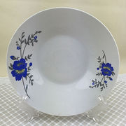 China Porcelain soup ceramic plate