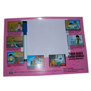 Magnetic Writing Board, Available in Various Sizes, Made of Rubber Magnet and Paper from Jyun Magnetism Group Limited