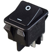 22x30 mounting, double pole rocker switches up to 30A 125/250VAC, 128A inrush