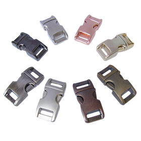 China High quality various size metal slide buckles
