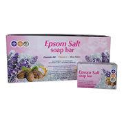 Luxury Nourishing Lavender Oil Epsom Salt Bar Soap with Rich Vitamin E & Shea Butter