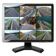 19-inch square screen CCTV monitor with standard four wall mount holes resolution: 1280x1024@60Hz