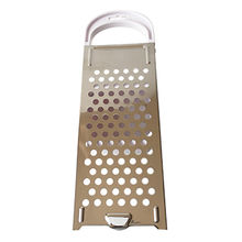 Flat grater cheese box