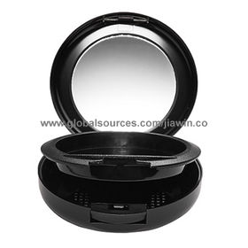 Cosmetic Plastic Round Compact